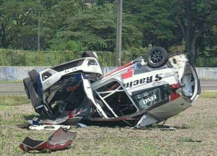 Kasus insiden kecelakaan karambol di HJSC sebaiknya menjadi refleksi seluruh insan balap di Indonesia. (foto : ist)