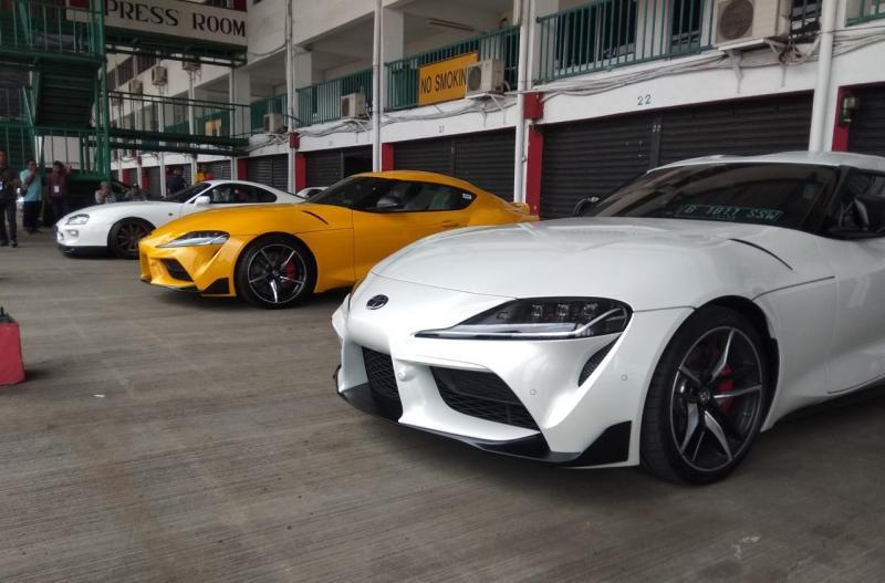 Harapannya, dengan Supra baru ini bisa diterima oleh masyarakat, karena demand-nya cukup baik di Indonesia, di pasar global pun New Supra juga tinggi animonya. (anto)