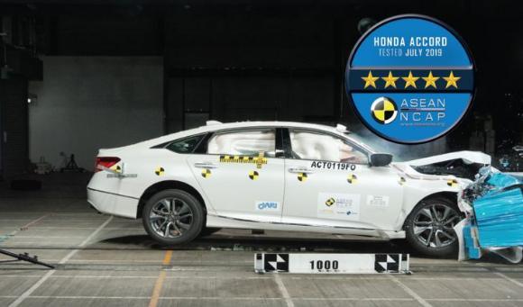 Peringkat tersebut merupakan penilaian tertinggi yang diberikan untuk berdasarkan uji tabrak dan kelengkapan fitur keselamatan pada sebuah mobil.