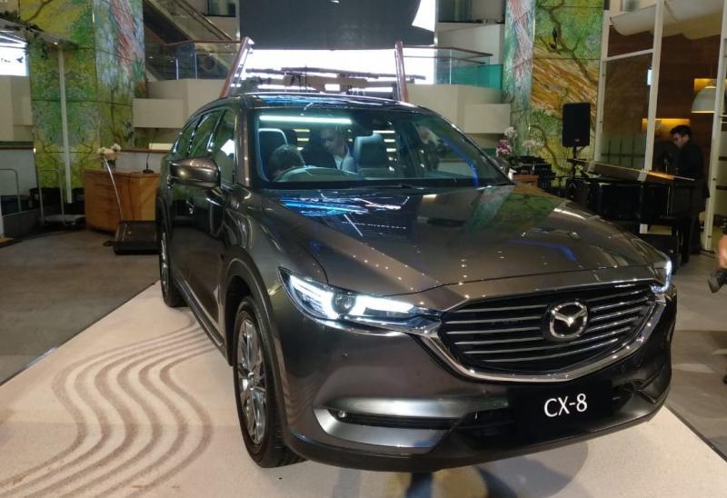 All New Mazda CX-8 akhirnya meluncur di Indonesia