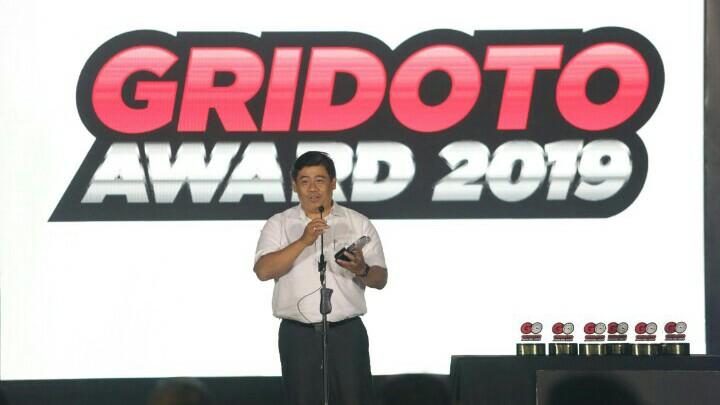 Yamaha meraih 7 penghargaan pada ajang GridOto Award 2019