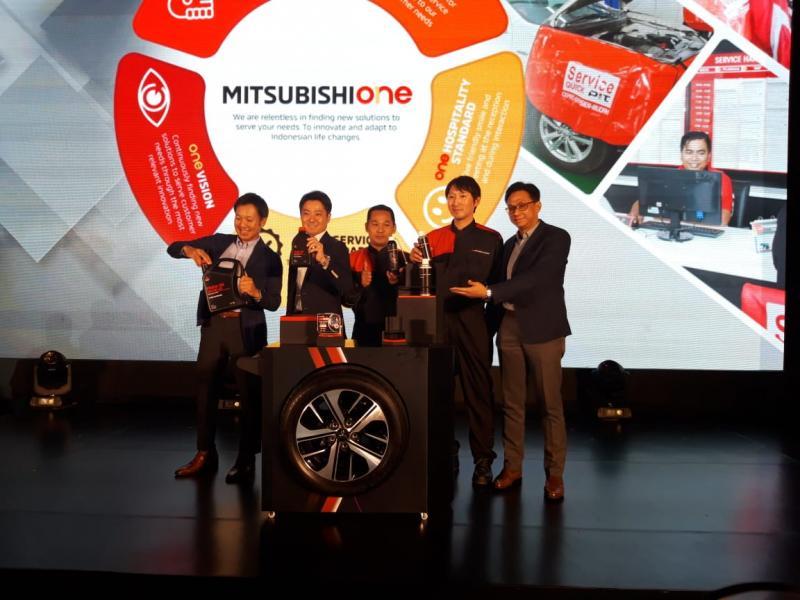 PT MMKSI perkenalkan Mitsubishi One, wajah baru layanan purnajual Mitsubishi di Indonesia