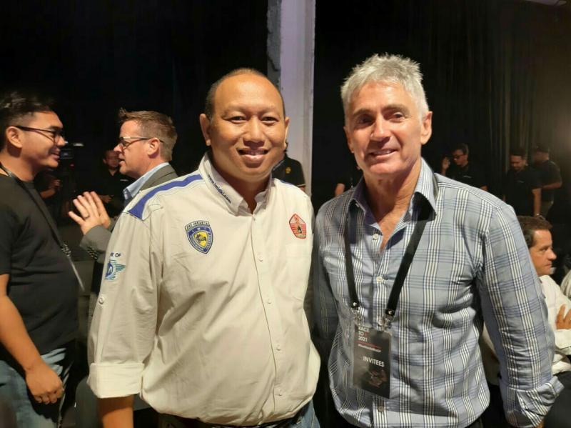 Anondo Eko dan Michael Doohan, sama-sama promosikan MotoGP Mandalika 2021