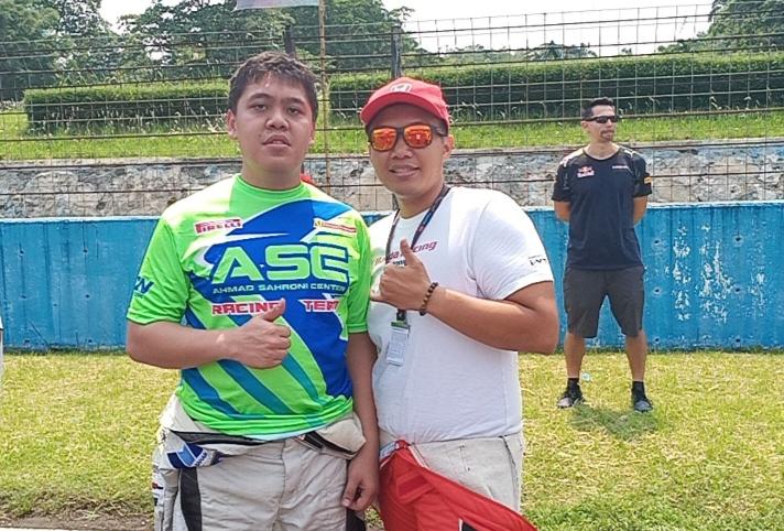Rio Bramantio (kiri) dan Rio SB, first time ikut balap ketahanan 1000 km di sirkuit Sepang