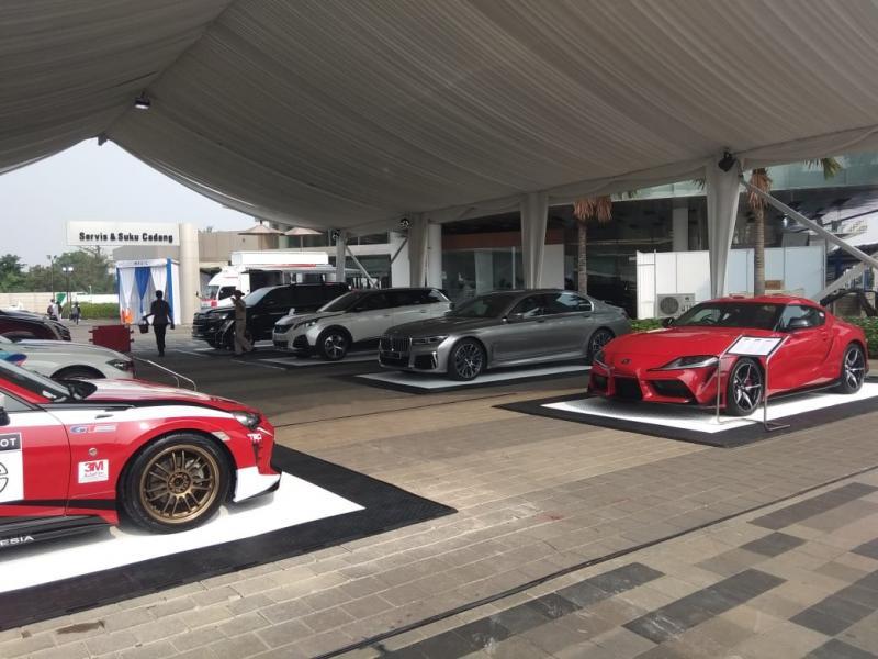 Berbagai produk dan program terbaik dari Astra dihadirkan pada ajang Astra Auto Fest 2019 dan minat masyarakat terus meningkat.(anto)