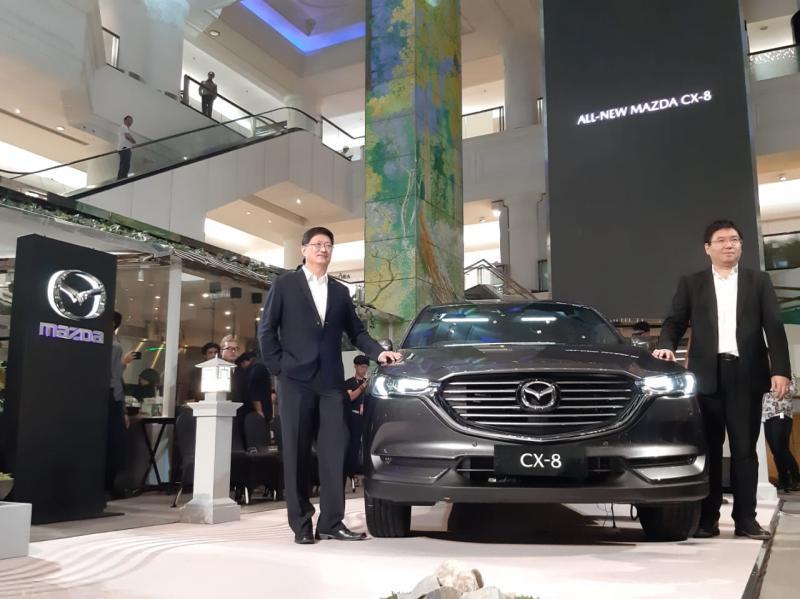 All New Mazda CX-8 tawarkan fitur safety lengkap