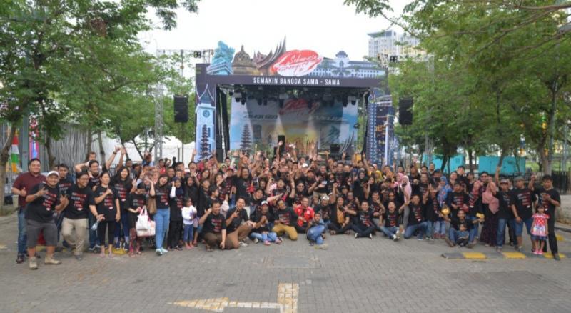 Keceriaan dan kegembiraan di Festival Avanza-Veloz Sebangsa di Kota Bekasi. (Foto : tam)