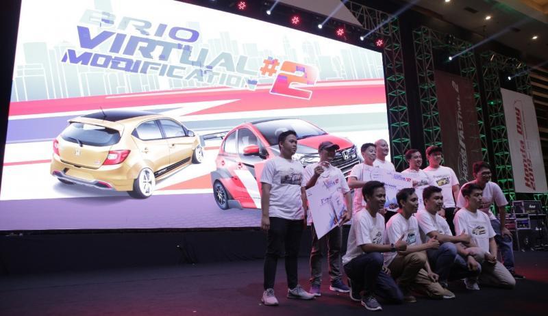 Penilaian Honda Brio Virtual Modification ini dilakukan oleh 3 orang juri yang telah berpengalaman dalam dunia modifikasi digital.(ist)