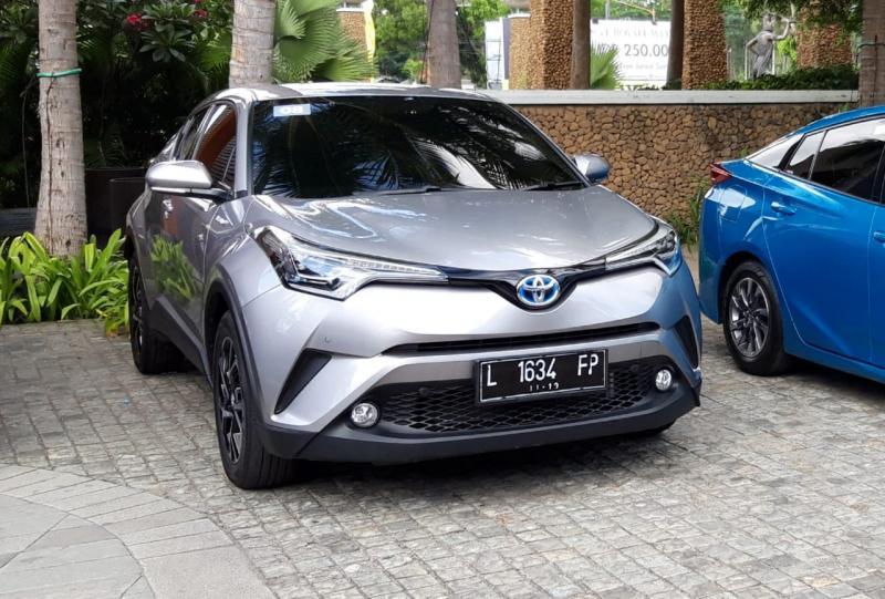 C-HR Hybrid jadi line hybrid Toyota paling laris di Kalimantan Timur