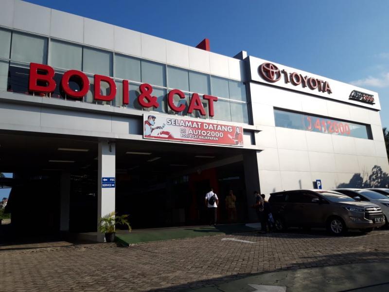 Bengkel body & cat Auto2000 Balikpapan penuhi standar dari Toyota Astra Motor