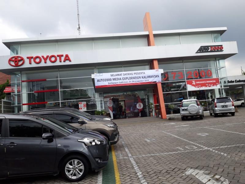 Dealer Auto2000 Balikpapan hadir memenuhi kebutuhan pelanggan Toyota di Kalimantan Timur dan sekitarnya