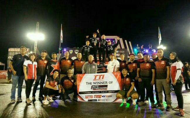 Skuad Toyota Team Indonesia TRD yang mencetak juara nasional 3 tahun berturut-turut