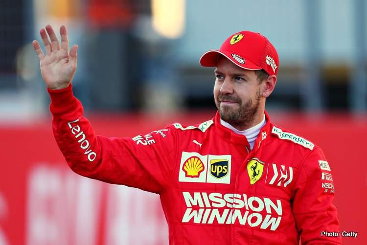 Sebastian Vettel (Ferrari), masih on fire menuju Abu Dhabi. (Foto: grandprix247)