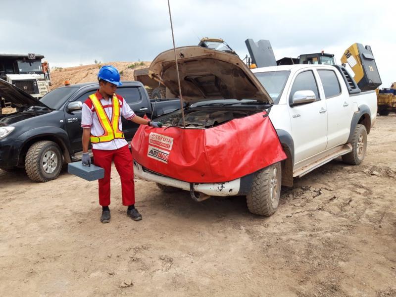 Layanan Toyota Home Service (THS) Auto2000 sambangi kawasan pertambangan