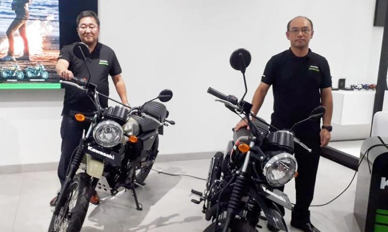 KMI Resmi Luncurkan Kawasaki W175TR Scrambler, Berikut Tipe Dan Harganya