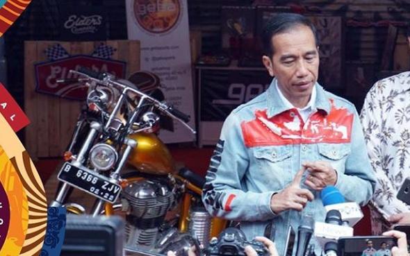 Presiden Jokowi yang juga hobi bermotor, direncanakan membuka IIMS Motobike Expo 2019. (iims_id)