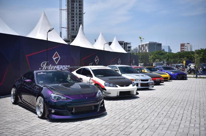 Para peserta merupakan pemenang dari rangkaian acara Intersport Auto Show 2019 di kota-kota sebelumnya. (ist)