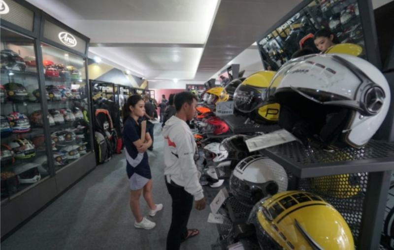 Aftermarket promo dan jor joran diskon di IIMS Motobike Expo 2019