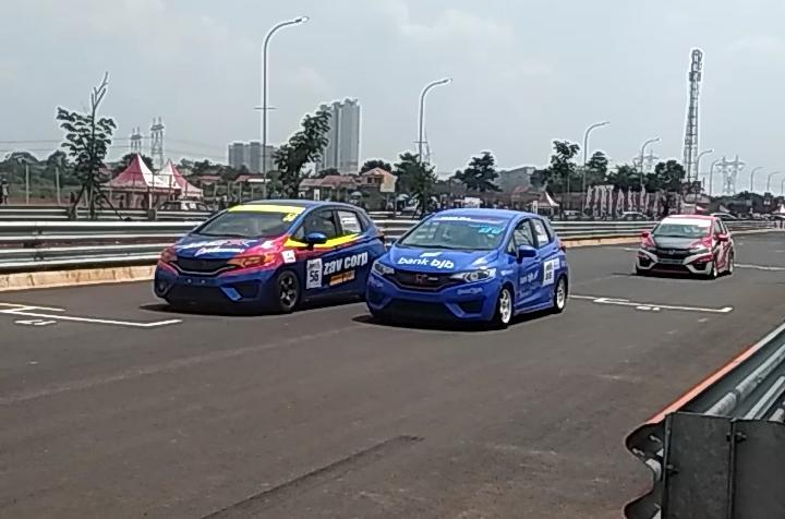 Seri HJSC di BSD City GP 2019, sudah memasuki tahun ke-14, jadi salah satu balap paling konsisten di arena balap Indonesia. (anto)
