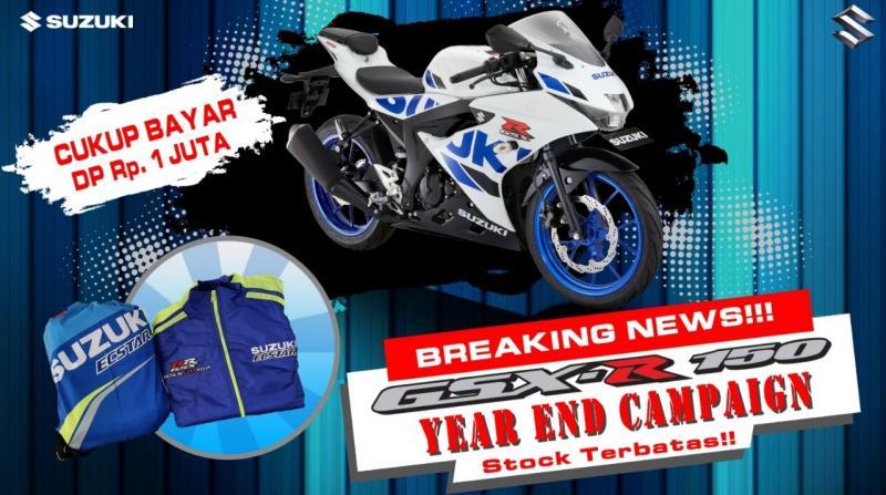 Keringanan pembayaran uang muka tersebut masih ditambah dengan hadiah langsung R Vest dan Team Ecstar drawstring bag.