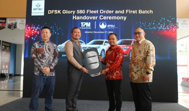 DFSK Glory 580 sangat cocok digunakan dalam berbagai kesempatan karena memiliki desain yang elegan, kabin yang lapang dan nyaman, serta teknologi modern. (anto)