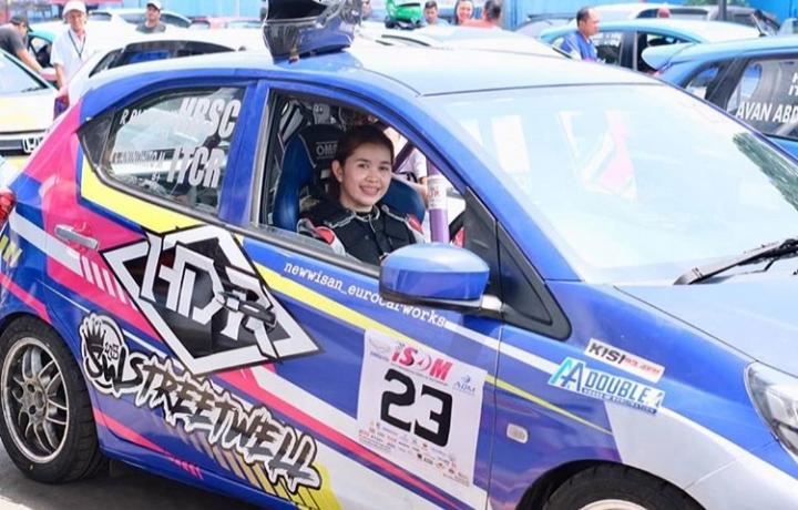 Lady Cild targetkan bisa naik podium di musim balap 2020 mendatang (foto: ig/ladycild)