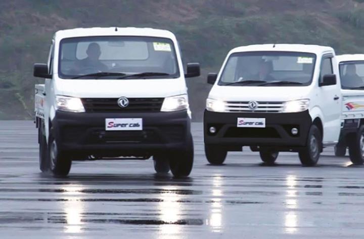 Khusus DFSK Super Cab yang sudah diproduksi di dalam negeri, telah diekspor untuk pasar Filipina. (ist)