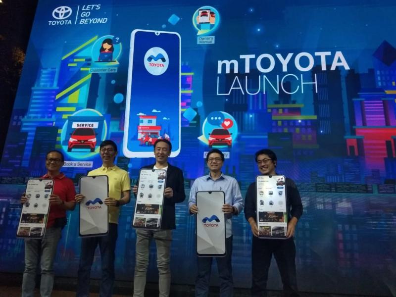Board of Directors PT TAM, mTOYOTA dapat semakin meningkatkan pelayanan Toyota kepada pelanggan, secara digital. (anto)