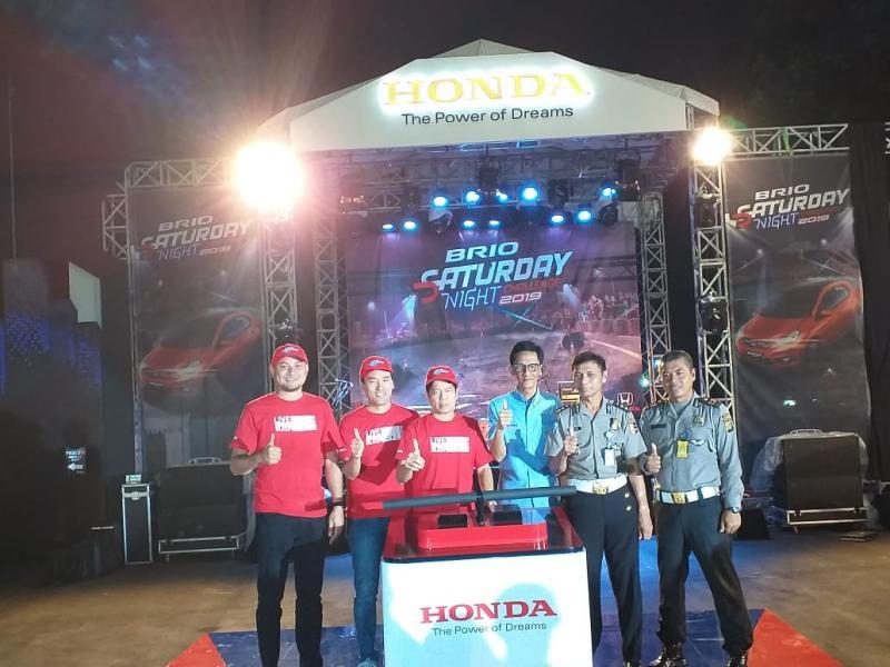 PT Honda Prospect Motor (HPM) tegaskan Brio Saturday Night City Challenge kembali digelar tahun depan