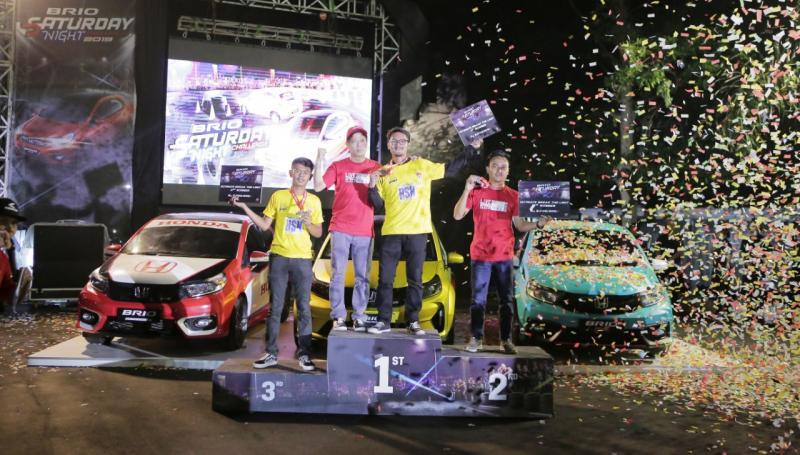 Di seri final ini, Auddi RG berhasil menjadi juara sekaligus memecahkan rekor waktu tercepat di sepanjang lomba ini dengan catatan waktu 18,004 detik. (ist) .
