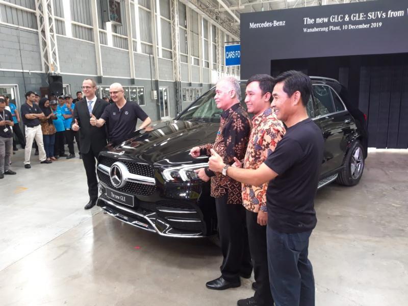 Harga Mercedes Benz New GLE belum diumumkan, menunggu Maret 2020