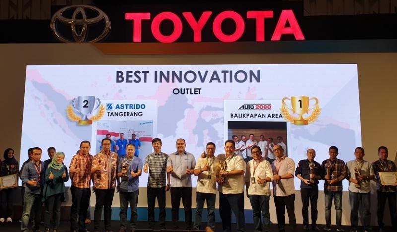 Penghargaan ini diberikan pada gelaran National Kaizen & Innovation Marathon (NKIM) 2019 dari PT Toyota-Astra Motor dengan mengalahkan 13 nominasi dari dealer resmi Toyota lainnya di seluruh Indonesia. (ist)