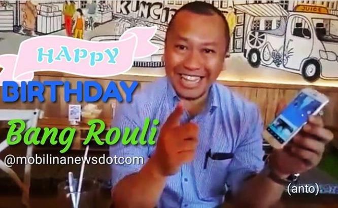 Rouli dikenal sangat dekat dan akrab dengan berbagai kalangan jurnalis lintas media dan generasi. (anto)