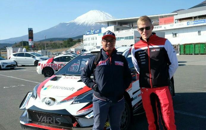 Anjasara Wahyu ngefans Ott Tanak, juara reli dunia 2019 dengan andalkan Toyota Yaris WRC