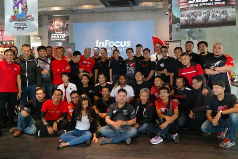 Anniversary ke-6 Ducati Superbike Owners