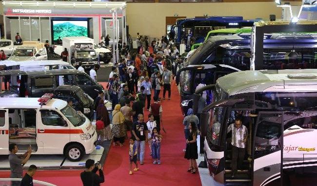 Pada gelaran perdananya di 2017 lalu, GIICOMVEC diikuti oleh lebih dari 40 merek besar industri otomotif Indonesia. (ist)