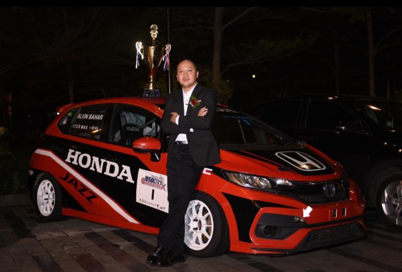 Alvin Bahar, Honda Jazz dan trofi juara nasional ITCR Max 2019