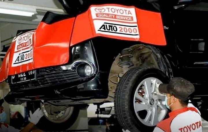 Auto2000 mengakomodir kebutuhan pemilik mobil Toyota yang ingin berlibur akhir tahun tanpa kendala pada mobilnya. (dok. Auto2000)