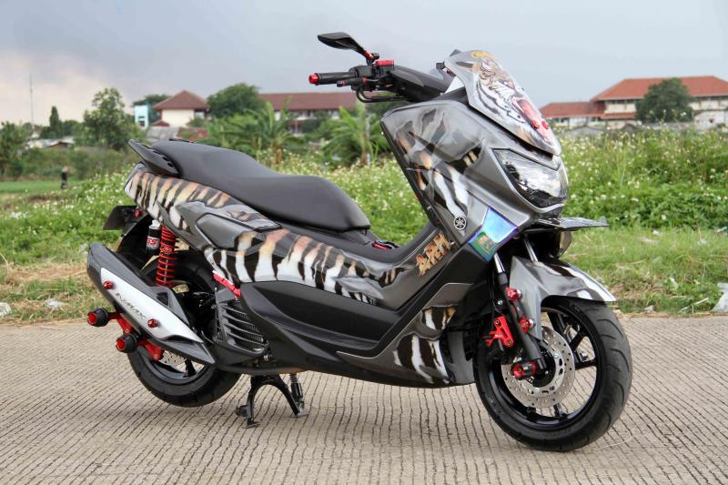 Modifikasi Yamaha NMAX: Macan Koja, Tampil Sangar Nan Garang Tetap Santuy Di Jalan