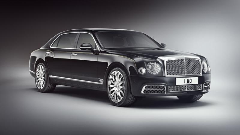 15 pembeli China mendapatkan kesempatan untuk memesan Bentley Mulsanne Extended Wheelbase China Edition (foto: autoblog)