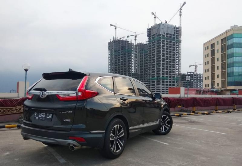 Generasi ke-5 Honda CR-V ini menjadi representasi keunggulan teknologi terkini Honda saat ini. (anto)