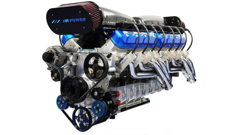 Produsen mesin Sixteen Power memperkenalkan mesin V16 bertenaga 2.200 HP untuk kapal