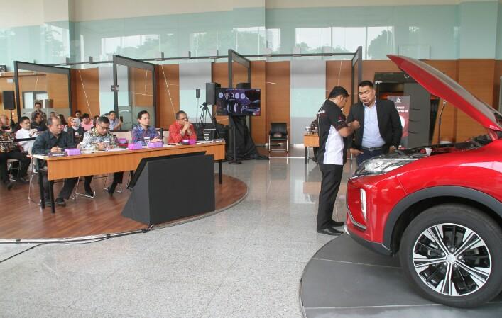 Berbagai kriteria dilombakan pada Kontes Nasional Tenaga Dealer oleh PT MMKSI