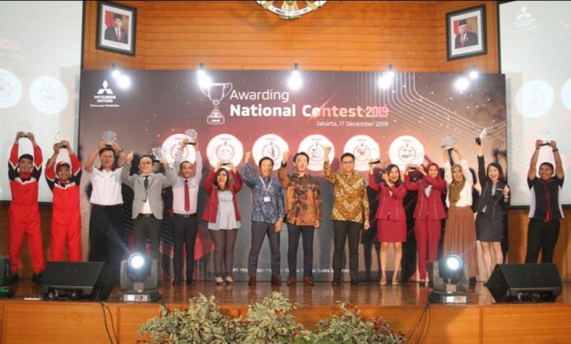 Para pemenang Awarding National Contest 2019 PT MMKSI