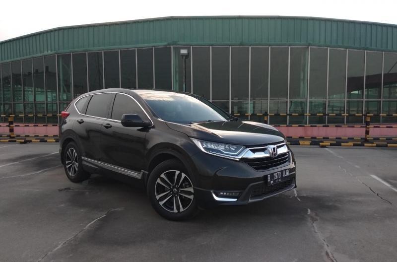 New Honda CR-V menggunakan mesin baru 1.5 VTEC Turbo yang lebih efisien dan bertenaga maksimal 190 PS dengan transmisi CVT.(anto)
