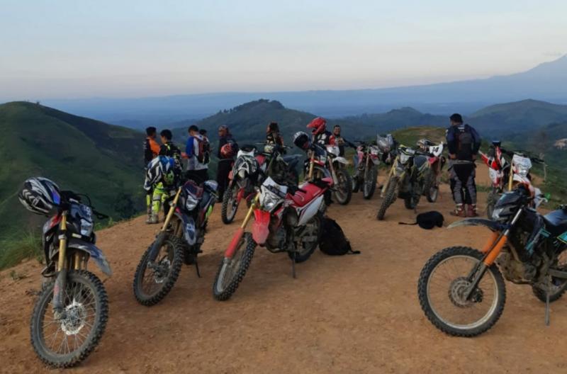 Wuih, Jalur Ekstrem & Eksotis Aceh Dirt Bike Adventure 2020