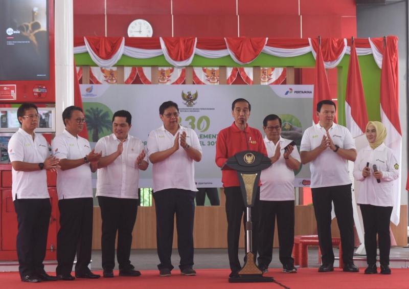 Presiden juga meminta agar pengurangan impor Solar harus dilakukan secara serius. (ist).