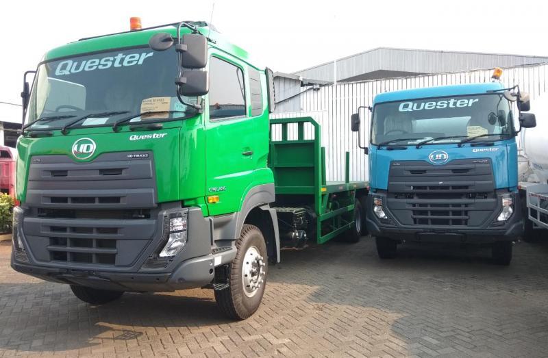 Astra UD Trucks memastikan produknya Quester sudah teruji, siap dan aman untuk menggunakan bahan bakar dengan campuran biodiesel 30 persen ini. (anto)