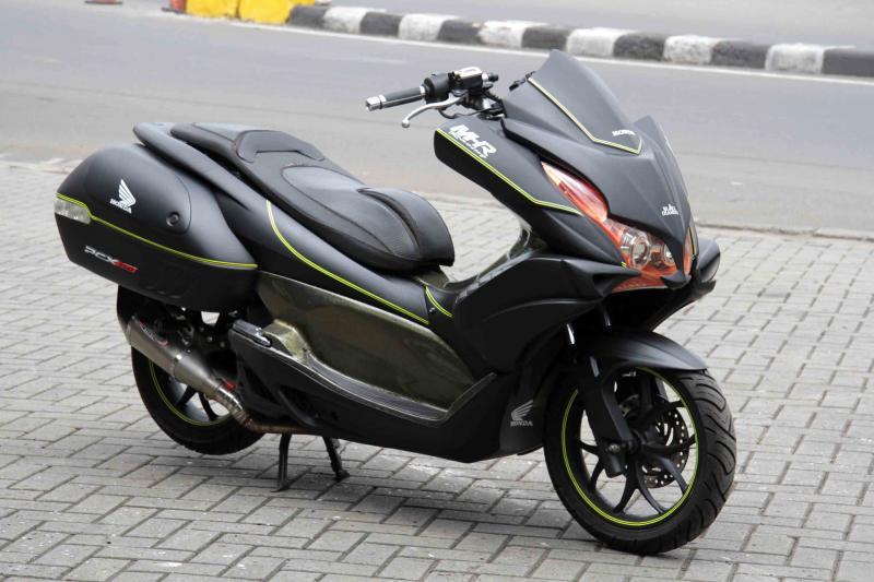 Modifikasi Honda PCX Ala Vultus By Planet Motor Sport
