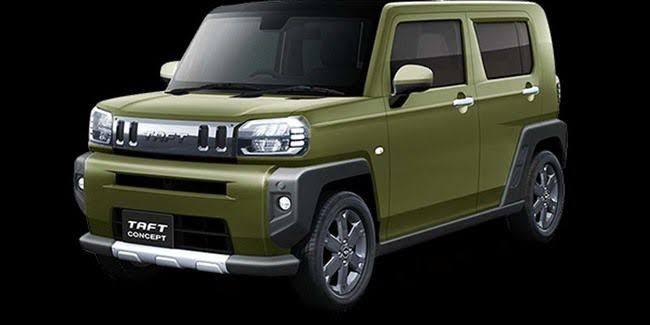 Daihatsu Taft Concept diproyeksikan sebagai rival Suzuki Jimny (ist)